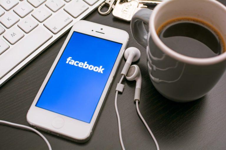 Facebook app in phone