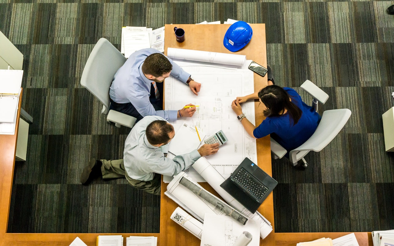 construction planning in a business