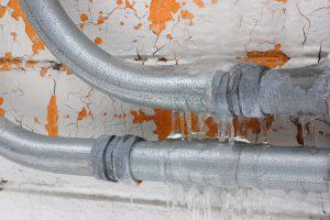 freezing pipes